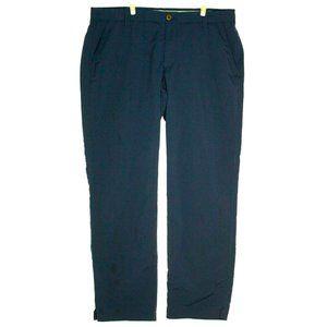 Under Armour Mens Match Play Golf Navy Blue Pants